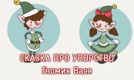 Мамина сказка. Гномик Вася и Волшебный сон.